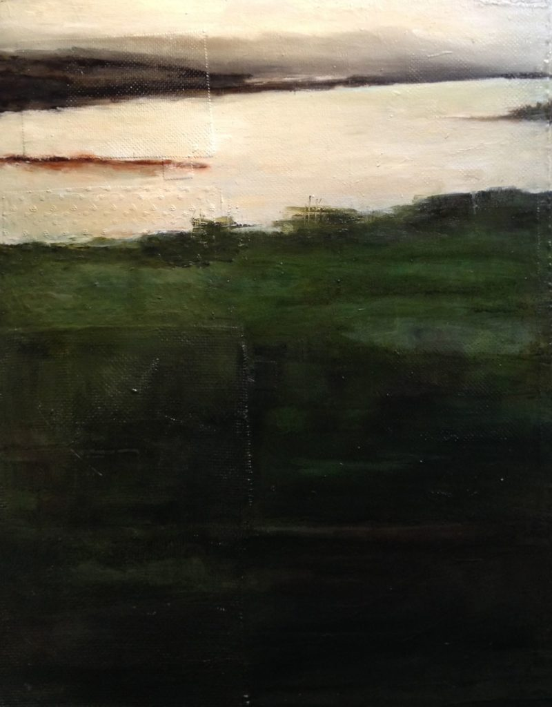 Serie_ Abstracción Paisaje  Óleo sobre lienzo  Medidas: 0,80 x 1,10 cm