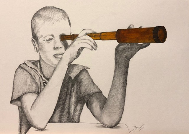 Lápiz grafito sobre papel Canso Medidas: 0,75 x 0,60 cm